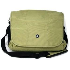 Pac Safe Anti-Theft Green Laptop Messenger Bag